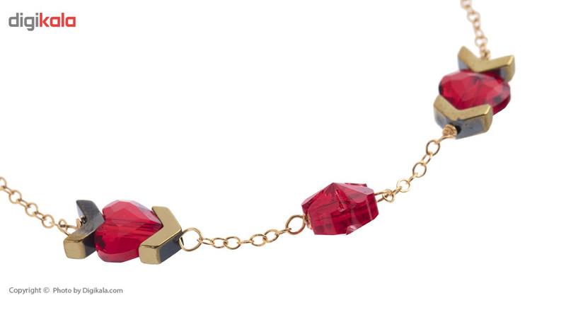دستبند طلا 18 عیار ماهک مدل MB0801