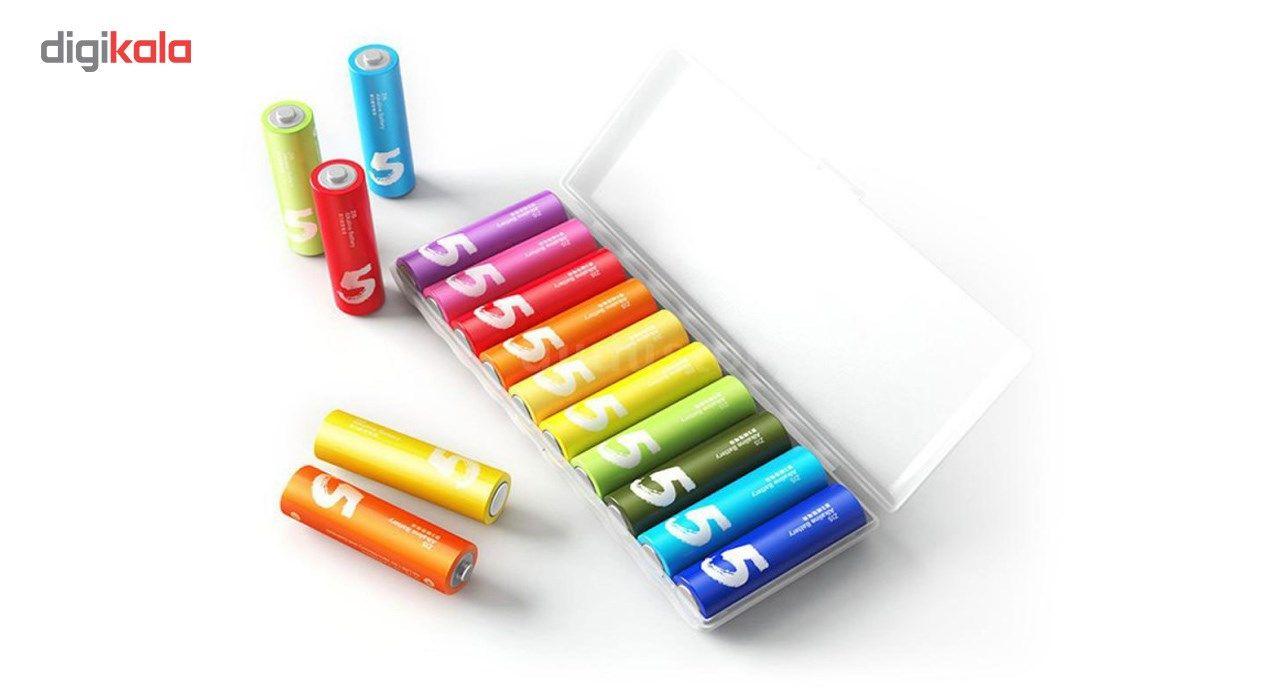 باتری قلمی و نیم قلمی آلکالاین شیاومی مدل ZI5  و ZI7 بسته 20 عددی main 1 2