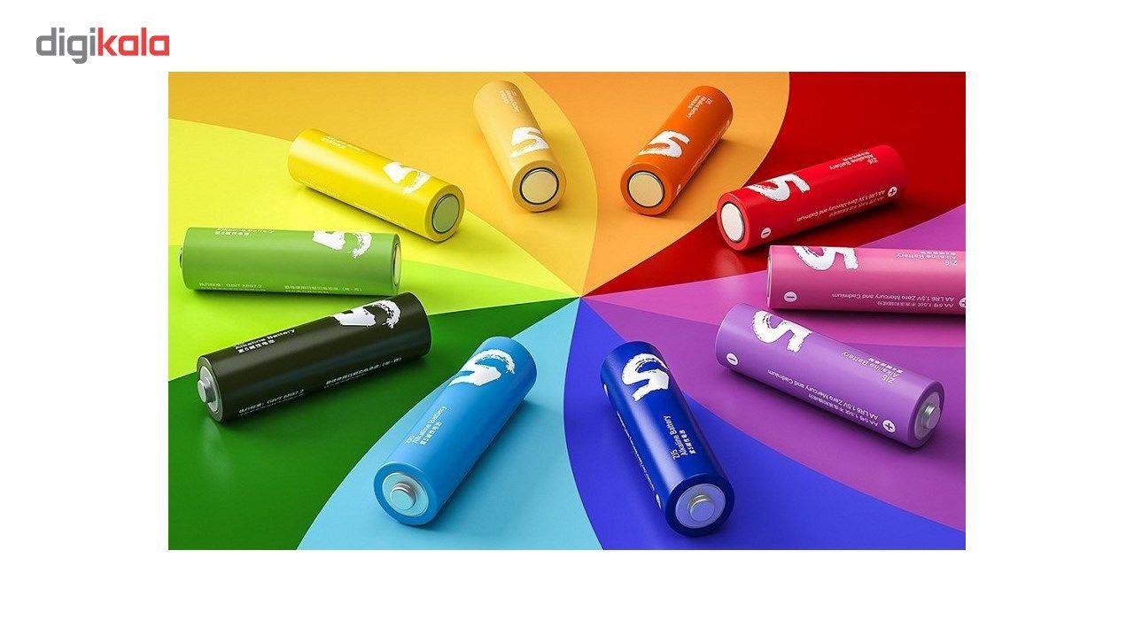 باتری قلمی و نیم قلمی آلکالاین شیاومی مدل ZI5  و ZI7 بسته 20 عددی main 1 3