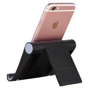 پایه نگهدارنده گوشی موبایل و تبلت یونیورسال مدل 270 درجه