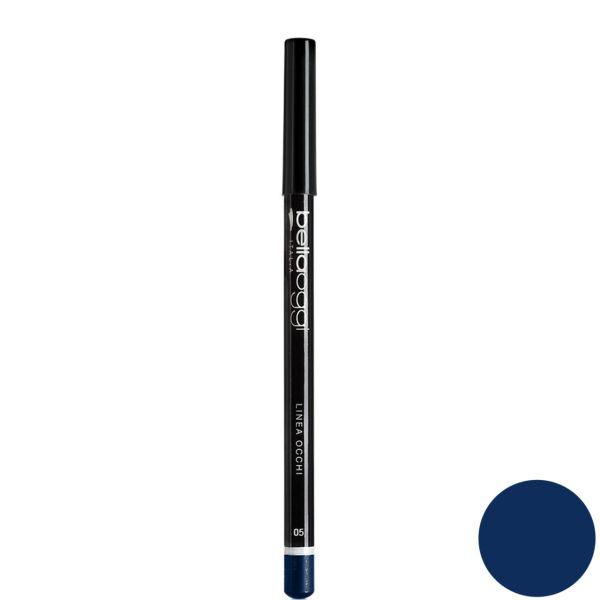 مداد چشم رنگی بلاوجی مدل LINEA OCCHI 005 شماره blue 005
