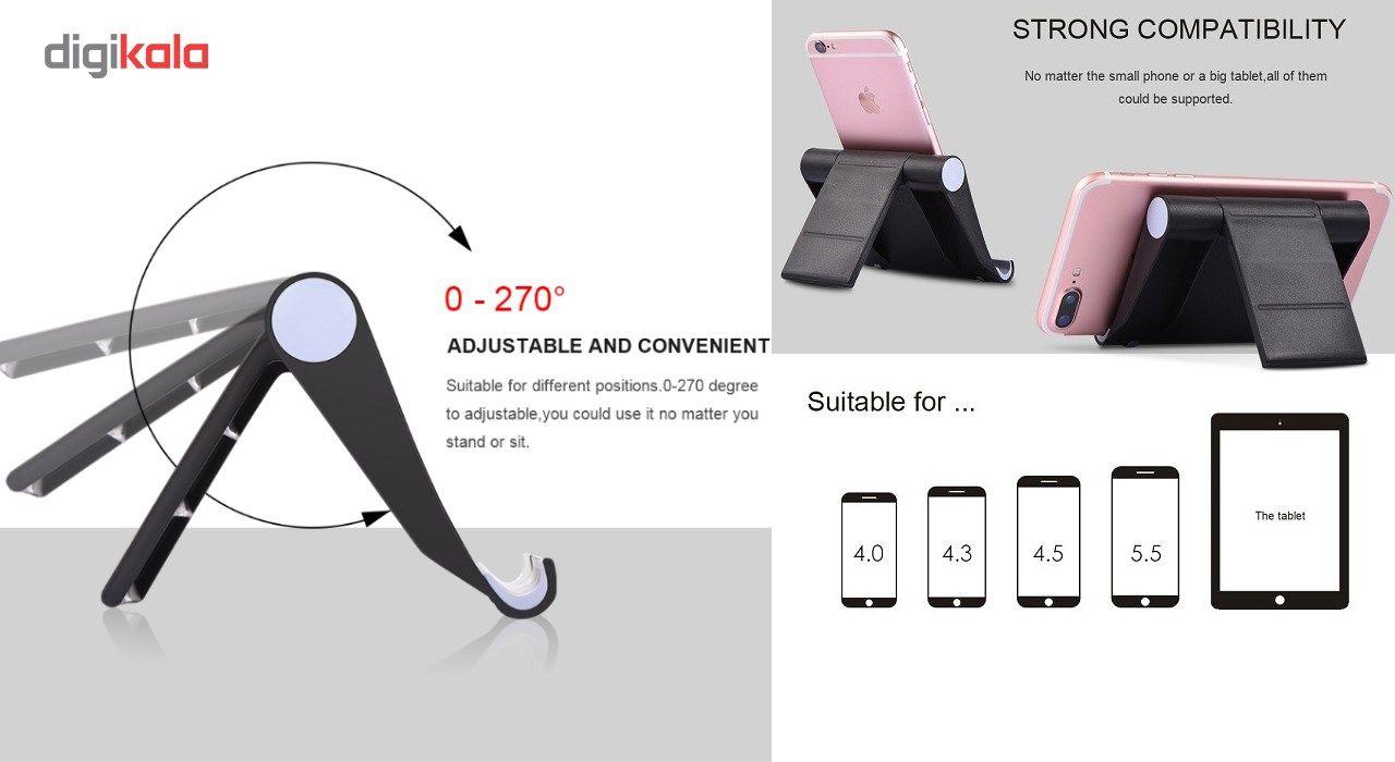 پایه نگهدارنده گوشی موبایل و تبلت یونیورسال مدل 270 درجه main 1 5