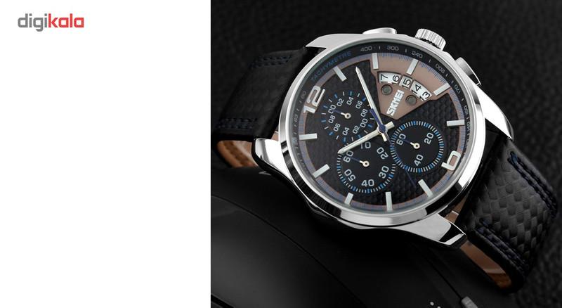 ساعت مچی عقربه ای مردانه اسکمی مدل 9106  کد 03