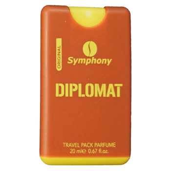عطر  جیبی زنانه سیمفونی مدل Diplomat حجم 20 میلی لیتر