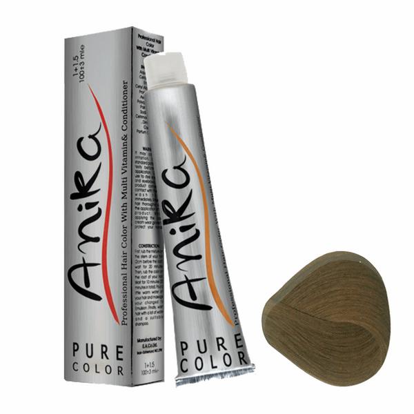 رنگ مو آنیکا سری طبیعی مدل قهوه ای روشن شماره 5