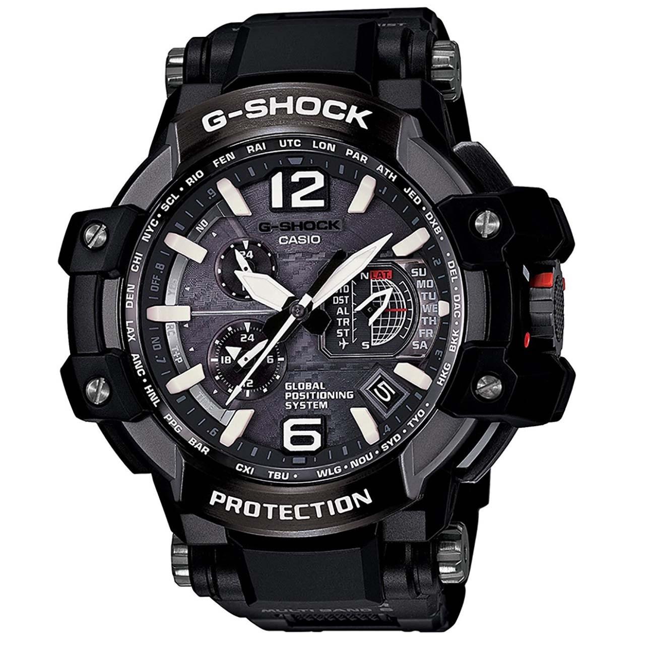 خرید ساعت مچی عقربه ای مردانه  کاسیو جی شاک مدل GPW-1000FC-1ADR