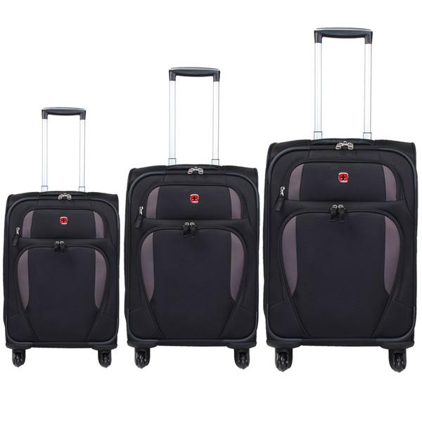 مجموعه سه عددی چمدان سوییس گیر مدل SA7353-1
