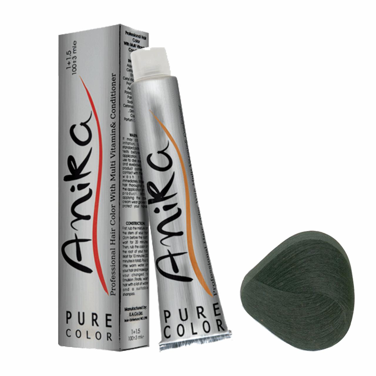 رنگ مو آنیکا سری طبیعی مدل بلوند مشکی شماره 1