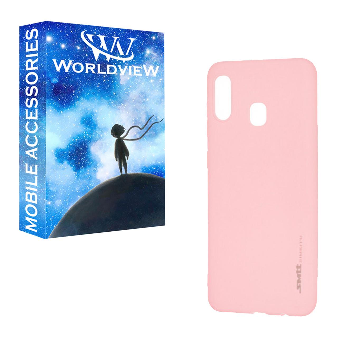 کاور ورلد ویو مدل WSMT-1 مناسب برای گوشی موبایل سامسونگ Galaxy A20/A30