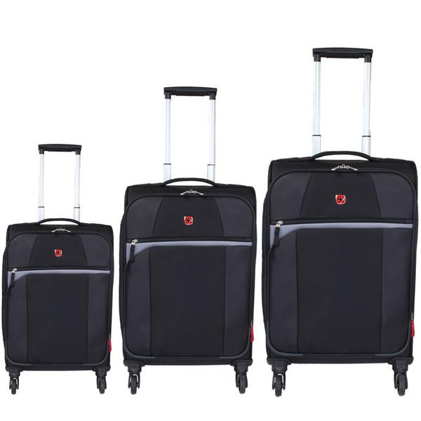 مجموعه سه عددی چمدان سوییس گیر مدل SA6165-1