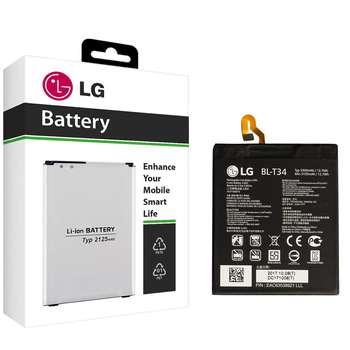 باتری موبایل مدل BL-T34 با ظرفیت 3300mAh مناسب برای گوشی موبایل  ال جی V30