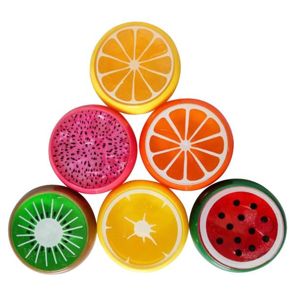 ژل بازی اسلایم مدل میوه ای بسته 6 عددی