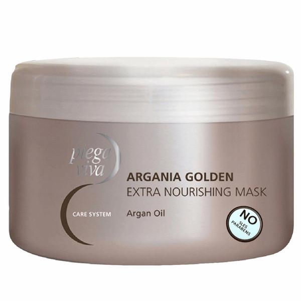 ماسک نرم کننده مو پیگا ویوا مدل Argania Golden Extra Nourishing حاوی روغن آرگان حجم 300 میلی لیتر
