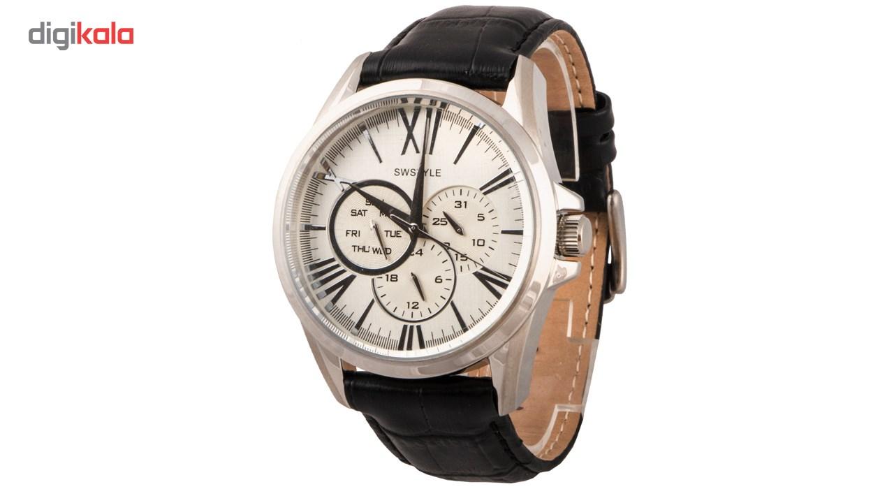 خرید ساعت مچی عقربه ای مردانه آفل مدل 1039