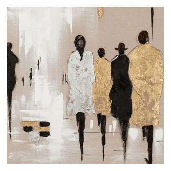 تابلو نقاشی اکرلیک طرح فیگور