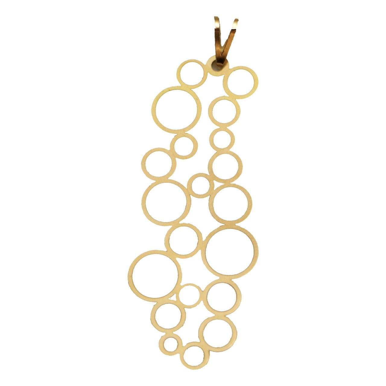 قیمت آویز گردن بند طلا 18 عیاز زویا گالری مدل MP-974-12