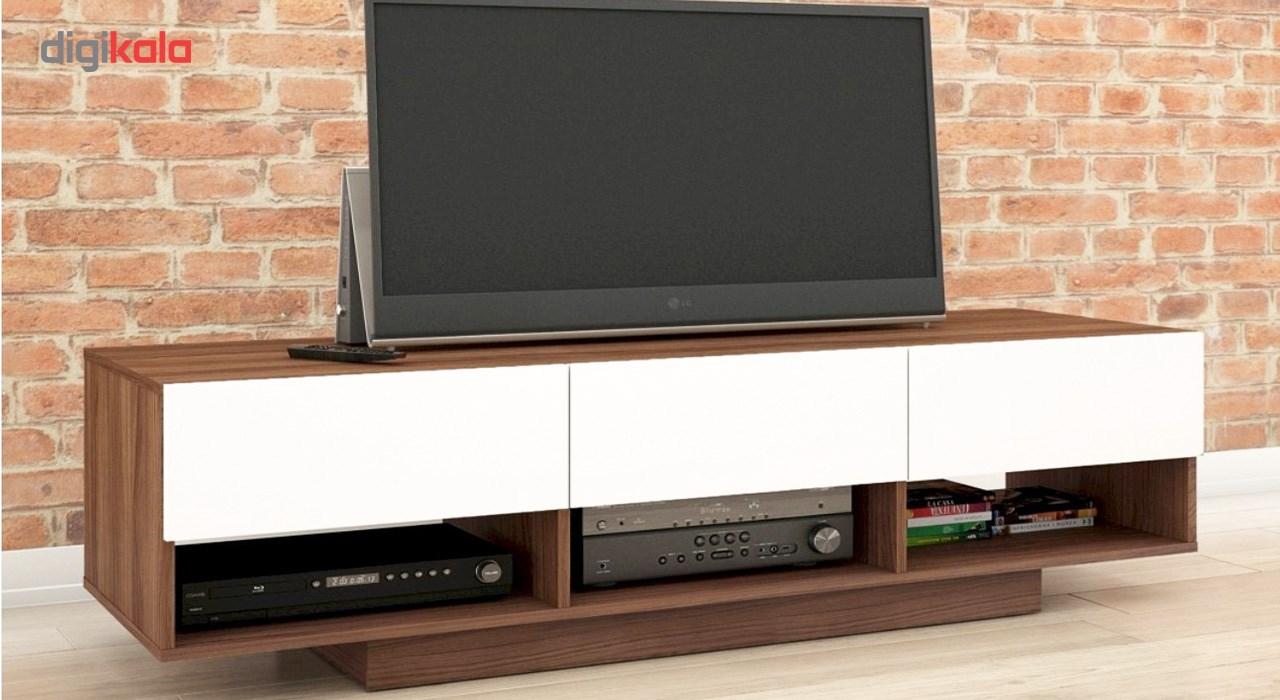 میز تلویزیون سرو چوب مدل 7Star