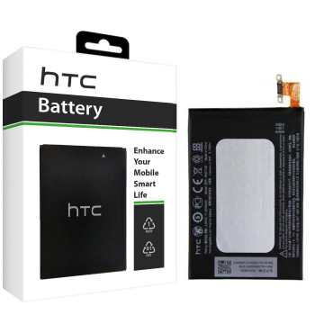 باتری موبایل مدل B0P9C100 با ظرفیت 2600mAh مناسب برای گوشی موبایل اچ تی سی One M8