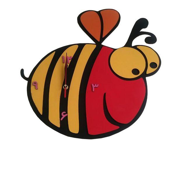 ساعت دیواری کودک دکونوشاپ مدل زنبور