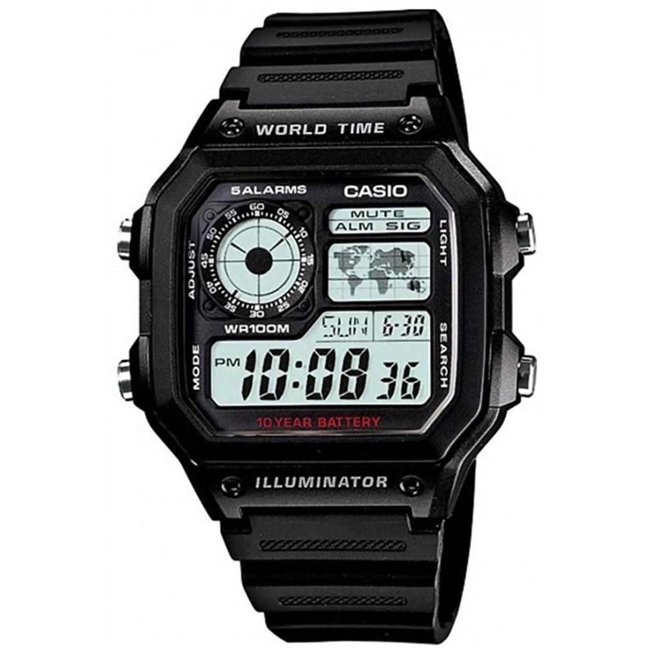 ساعت مچی دیجیتالی  کاسیو مدل AE-1200WH-1AVDF