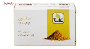 صابون ضد جوش علاج مدل گوگرد 10 درصد مقدار 100 گرم