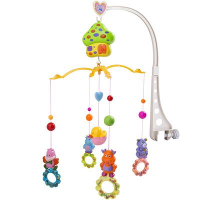 آویز تخت موزیکال کودک مدل  Happy Baby Toys Cow