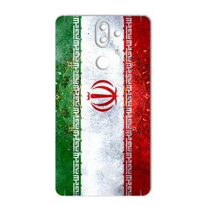 برچسب تزئینی ماهوت مدل IRAN-flag Design مناسب برای گوشی  Nokia 8Sirocco