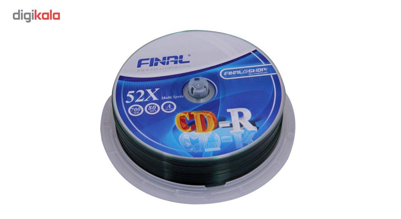 سی دی خام فینال بسته 25 عددی main 1 2
