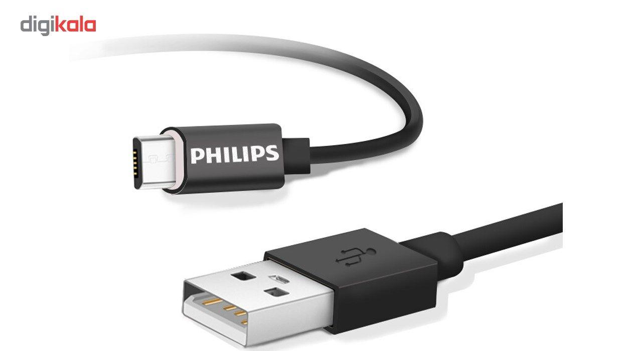 کابل تبدیل USB به microUSB مدل DLC2416U به طول 1 متر main 1 2