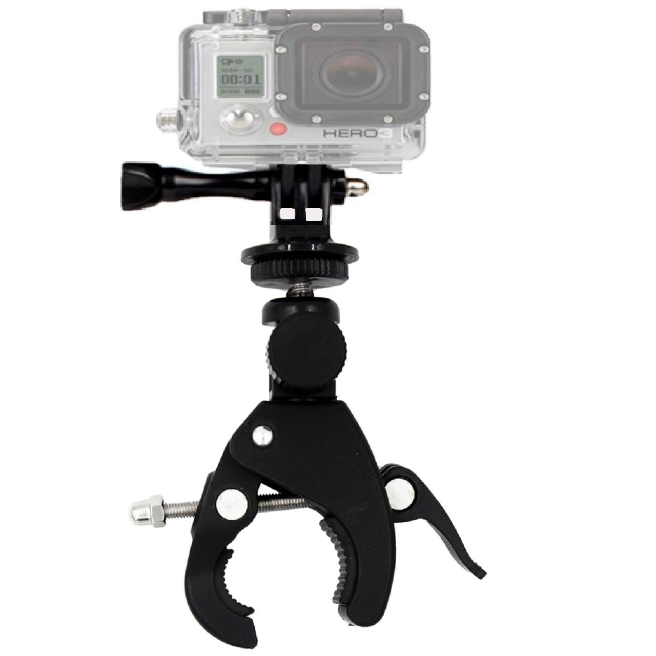 بررسی و {خرید با تخفیف}                                     پایه نگهدارنده بایک مونت مدل Tripod مناسب برای دوربین های ورزشی                             اصل