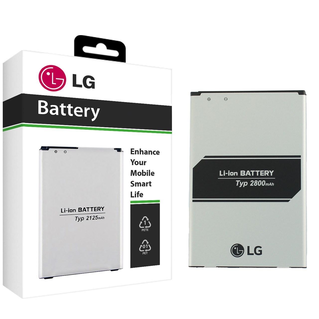 باتری موبایل مدل BL-46G1F با ظرفیت 2800mAh مناسب برای گوشی موبایل ال جی K10 2017