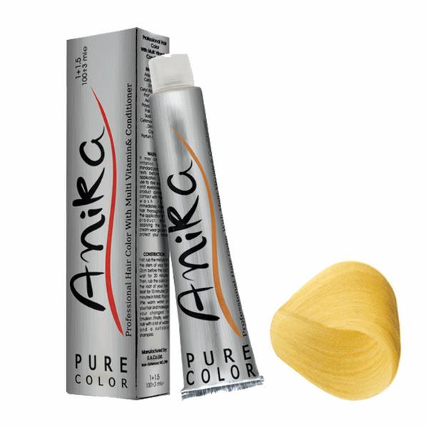 رنگ مو آنیکا سری طبیعی مدل بلوند فوق العاده روشن شماره 10