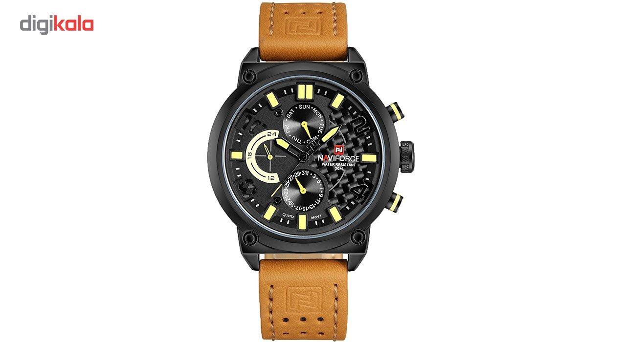 ساعت مچی عقربه ای مردانه نیوی فورس مدل NF9068L/BYBM -  - 4