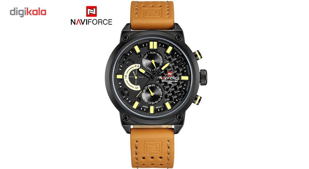ساعت مچی عقربه ای مردانه نیوی فورس مدل NF9068L/BYBM -  - 7