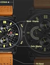 ساعت مچی عقربه ای مردانه نیوی فورس مدل NF9068L/BYBM -  - 8