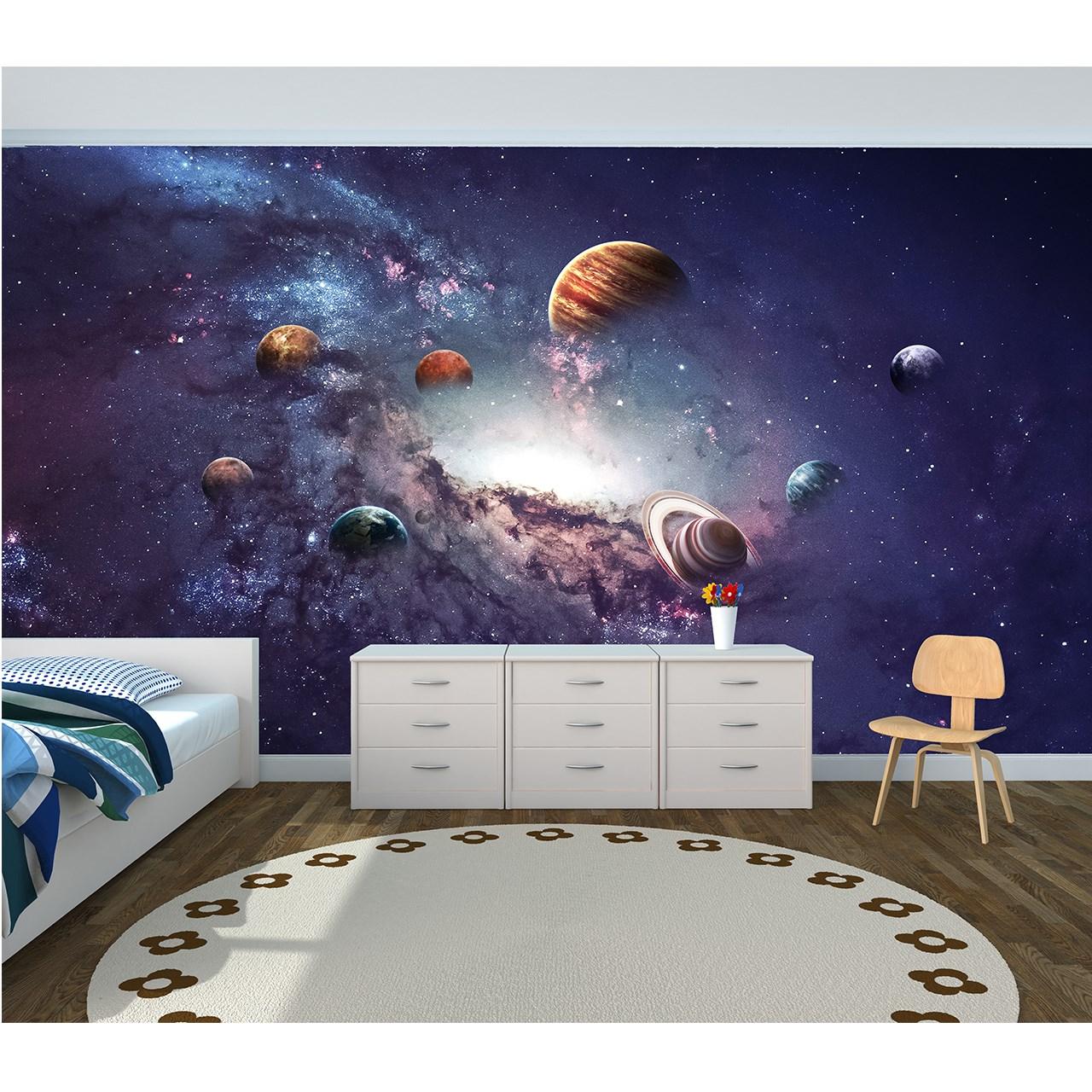 کاغذ دیواری سالسو طرح سیاره ها