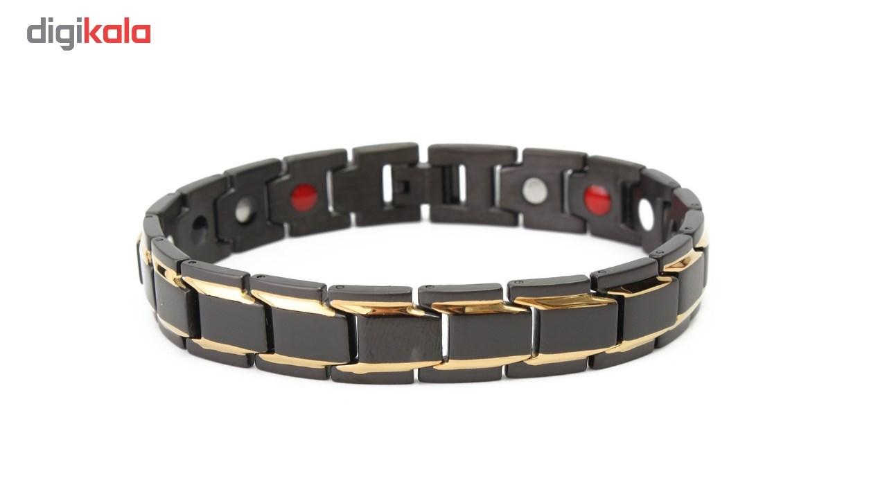 دستبند سلامت مغناطیسی داتیس مدل Black 101