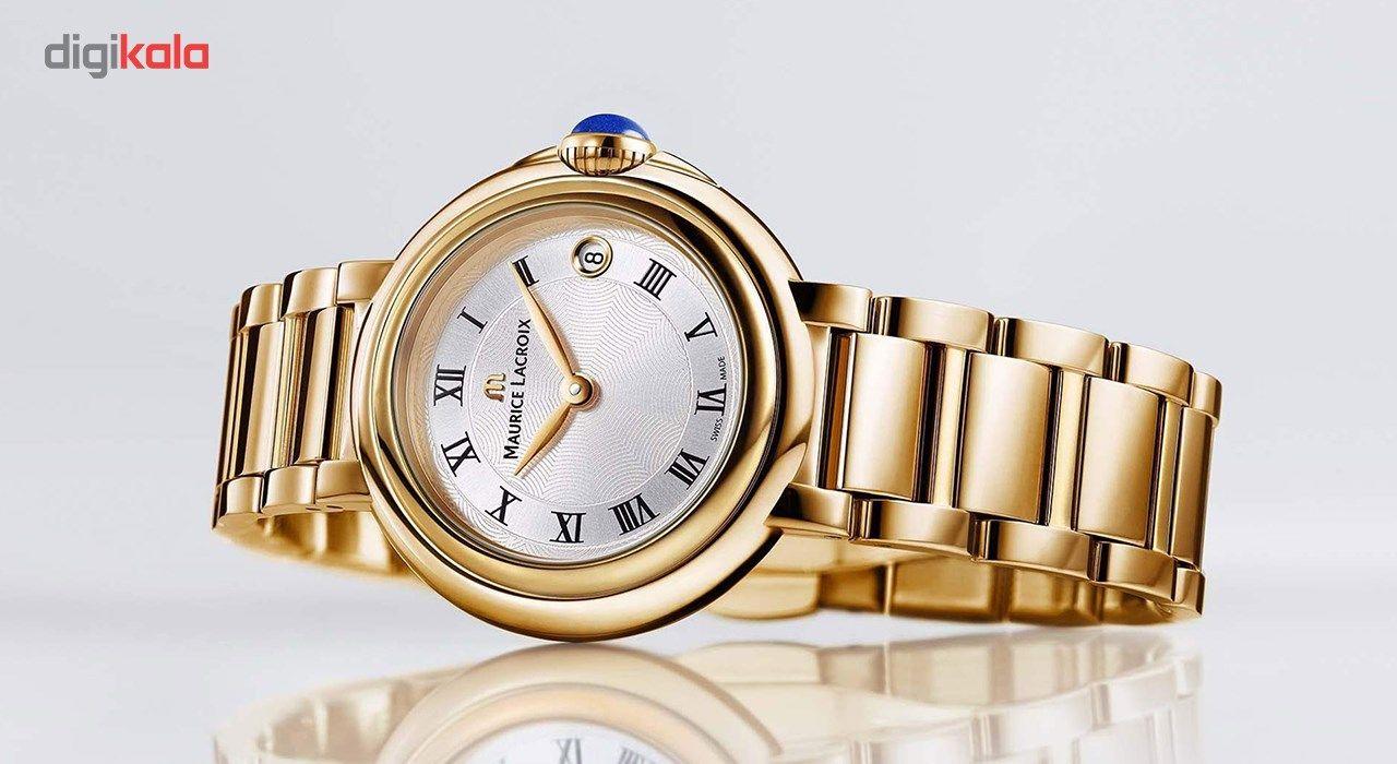 ساعت مچی عقربه ای زنانه موریس لاکروا مدل FA1004-PVP06-110-1 -  - 3