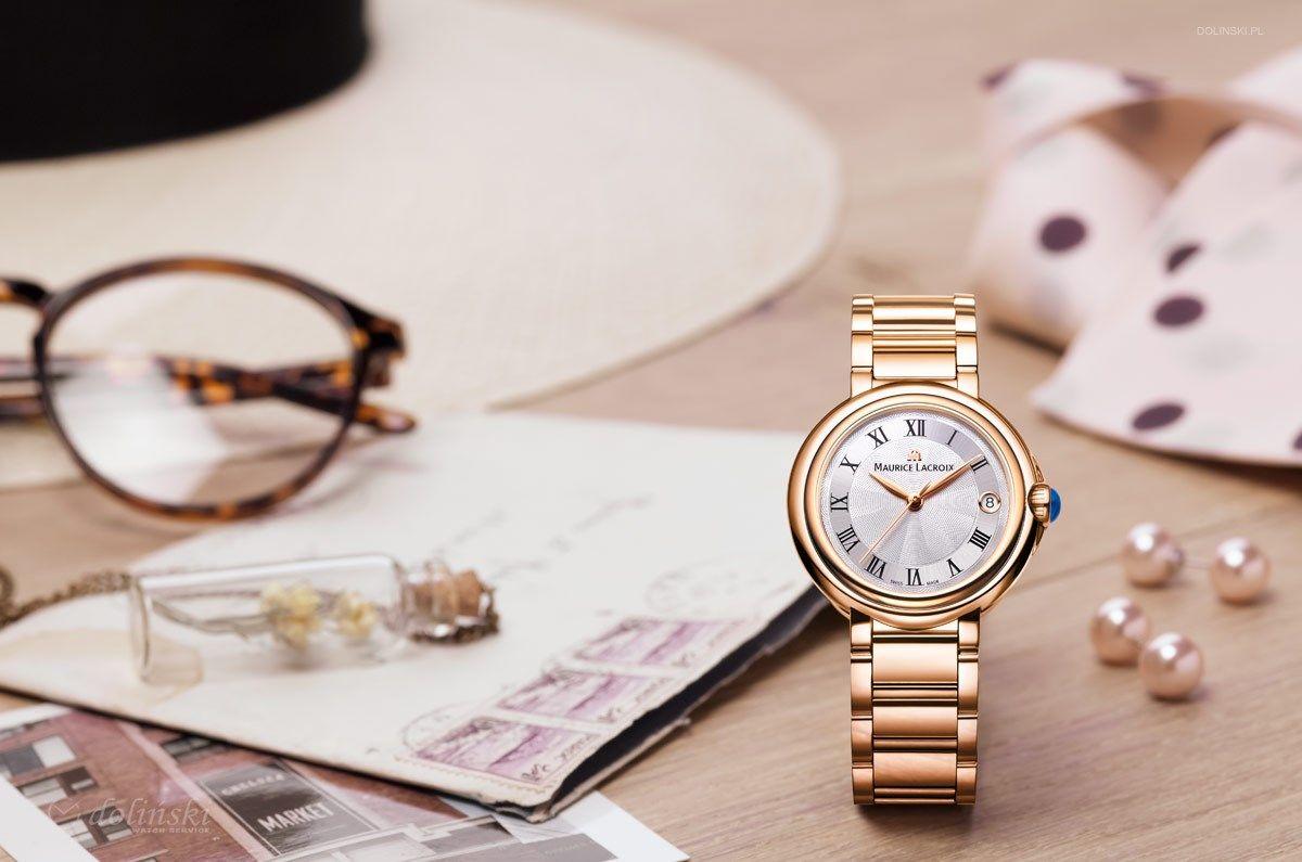 ساعت مچی عقربه ای زنانه موریس لاکروا مدل FA1004-PVP06-110-1 -  - 4
