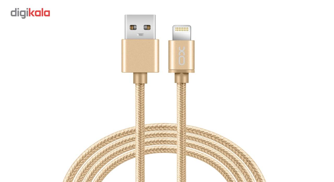 کابل تبدیل USB به لایتنینگ ایکس او مدل NB1 طول 1 متر main 1 1