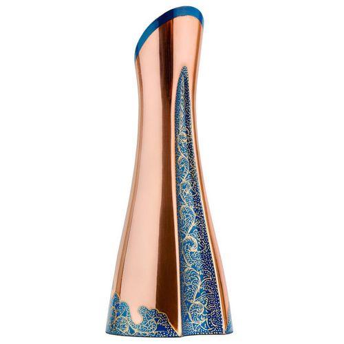 گلدان مسی رزدیس مدل swan-22003 ارتفاع 22 سانتیمتر
