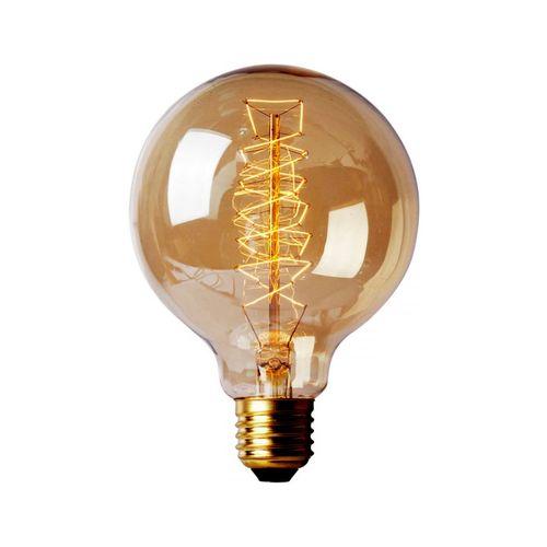 لامپ فیلامنتی انگاره مدل G125  پیچی پایه E27
