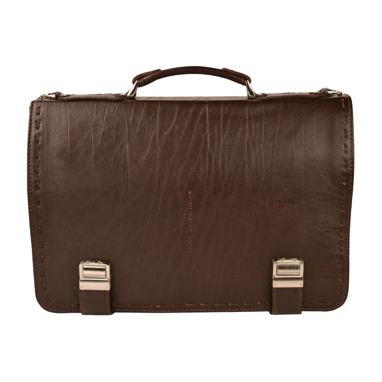کیف اداری چرم طبیعی کهن چرم مدل L30-7