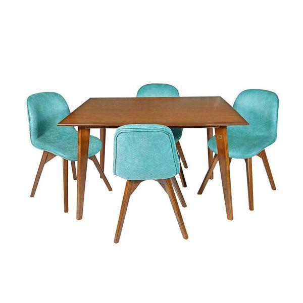 میز و صندلی ناهارخوری چوبکو مدل 690_4