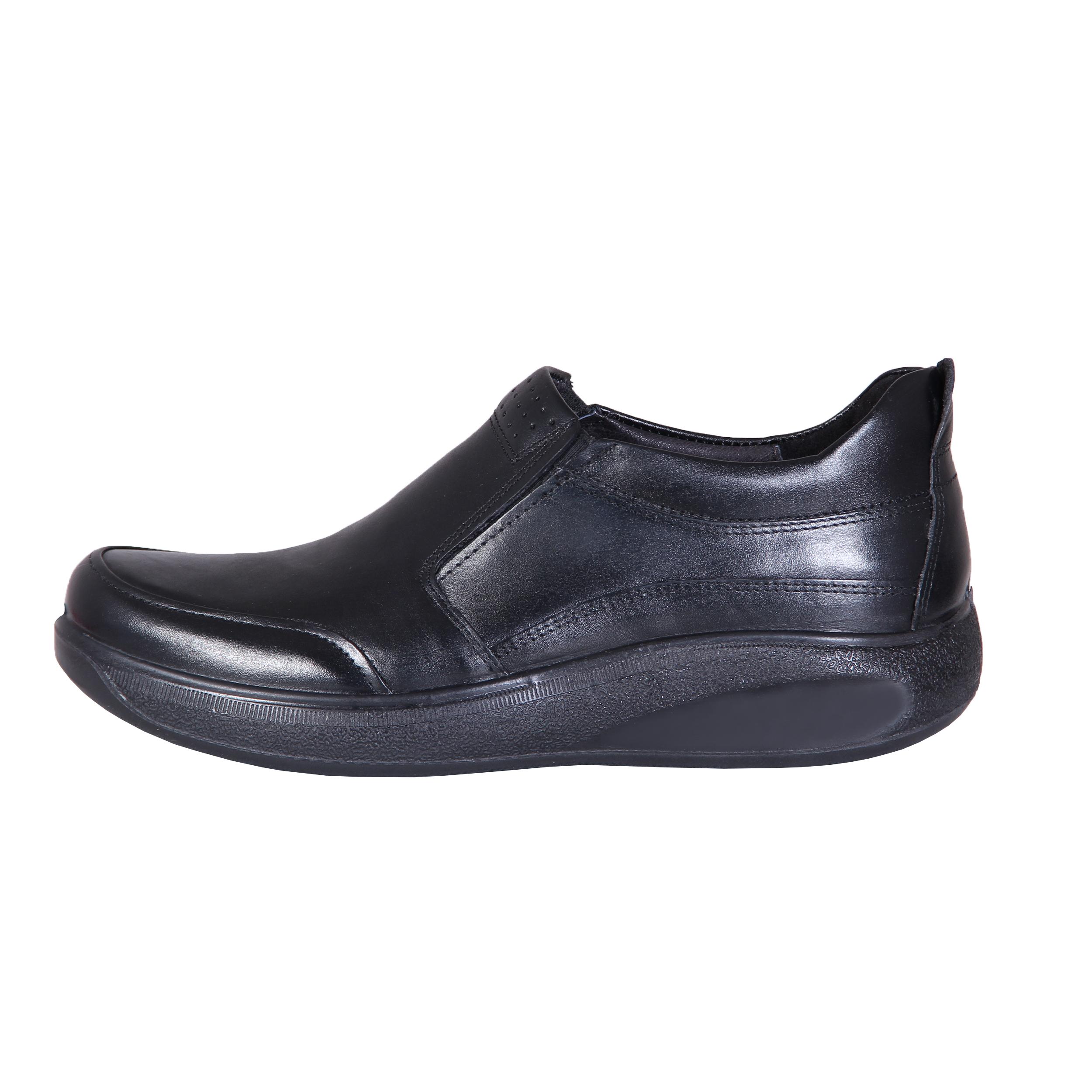 کفش روزمره مردانه شهر چرم مدل 1-P302