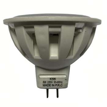 لامپ ال ای دی 5 وات  کد هالوژن MR16 پایه GU5.3
