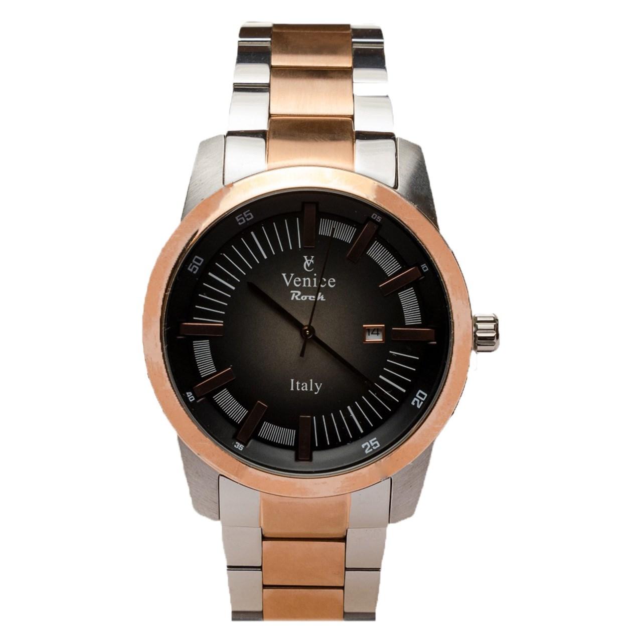 ساعت مچی عقربه ای مردانه ونیز مدل SV4008 16