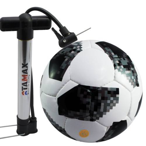 توپ فوتبال تل استار مدل جام جهانی 2018 همراه با یک عدد تلمبه
