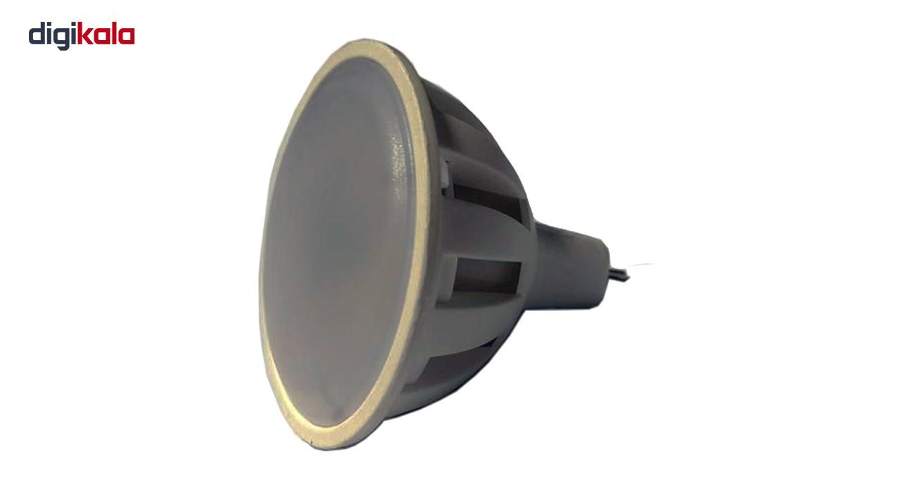 لامپ ال ای دی 5 وات  کد هالوژن MR16 پایه GU5.3  main 1 3
