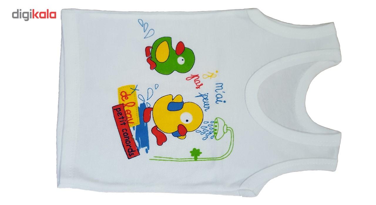 ست لباس نوزاد مدل Duckling